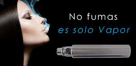 No fumas es solo vapor